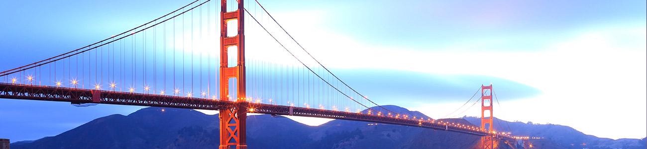 San Francisco Bridge Mid Day
